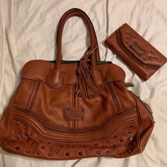 Guess Handbags - Guess purse with matching wallet
